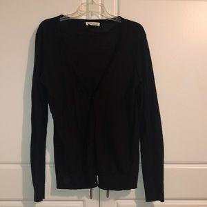 Forever 21 light weight oversized black cardigan